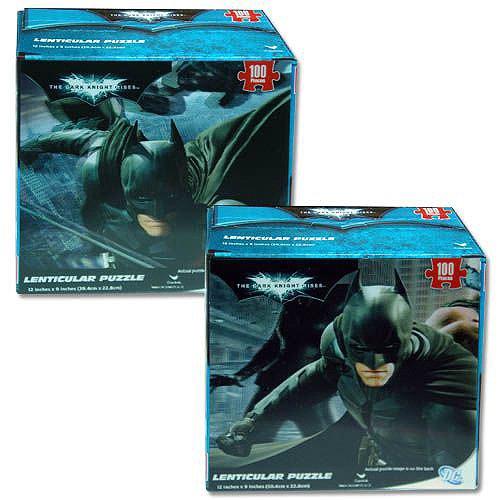 Batman The Dark Knight Rises Lenticular Puzzle 100 Pieces