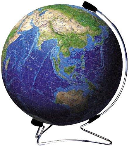 3D sphere puzzle 540 piece Blue Earth - globe - puzzle shiny diameter about 229cm