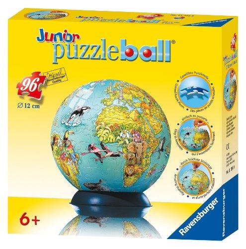 Ravensburger Childrens Globe - 96 Piece puzzleball