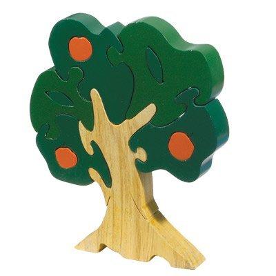 Orange Tree Childrens Wooden Puzzle