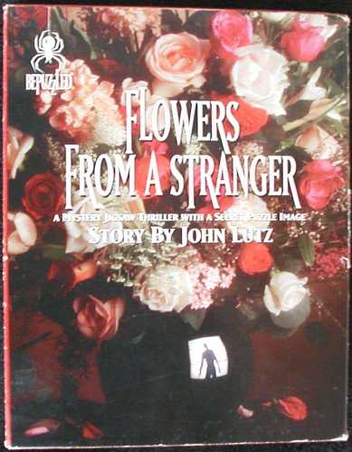 BePuzzled Mystery Jigsaw Puzzle by John Lutz - Flowers From A Stranger