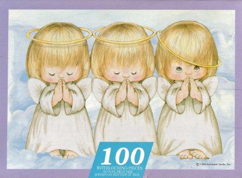 SPRINBOK 100 PIECE THREE LITTLE ANGELS CHILDRENS JIGSAW PUZZLE by Springbok