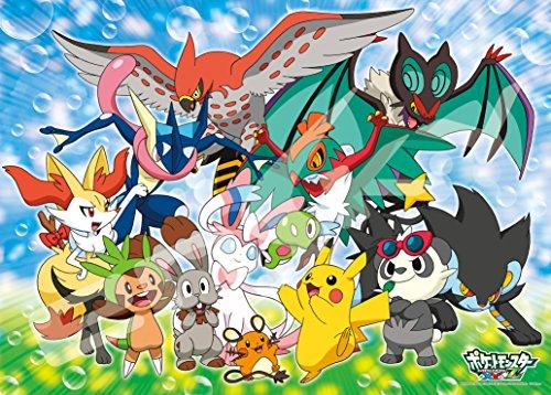 Ensky Pokemon XYZ Puni Chan to Issho Large Jigsaw Puzzle 300 Piece