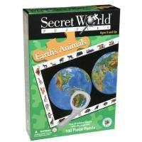 Secret World Earths Animals Jigsaw Puzzle 100pc
