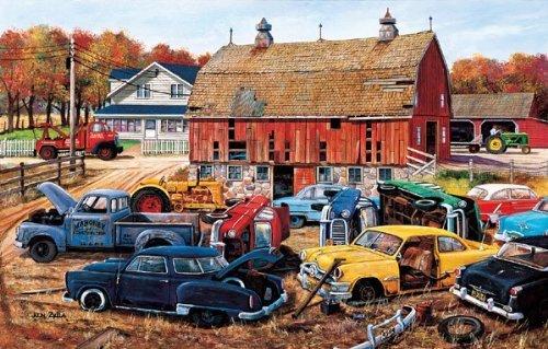 Barnyard Gems a 1000-Piece Jigsaw Puzzle by Sunsout Inc