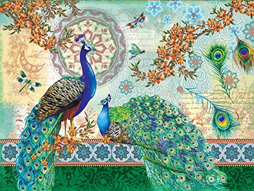 Royal Peacocks a 500-Piece Jigsaw Puzzle by Sunsout Inc