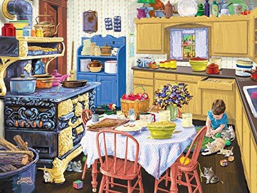 SunsOut Nanas Kitchen Jigsaw Puzzle 500-Piece