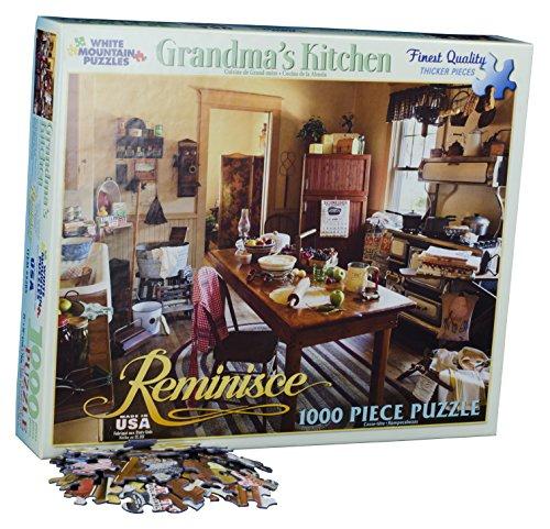 White Mountain Puzzles Grandmas Kitchen - 1000 Piece Jigsaw Puzzle