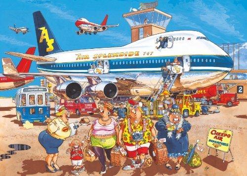 Wasgij Original 2 - Happy Holidays 500 Piece Jigsaw Puzzle by Jumbo Games