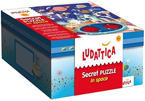 Secret Puzzle In Space - Interactive Puzzle