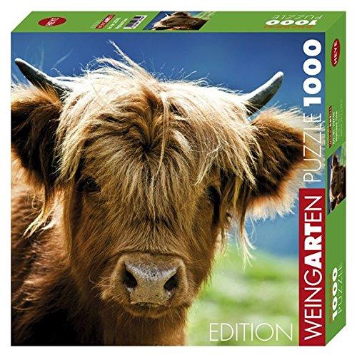 Heye Jigsaw Puzzle - Highland Cow - 1000pcs - 29745