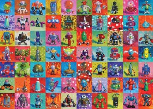 Heye-Jigsaw Puzzle-heye-29576Classic Robots-Henry Stinson-2000pieces by Heye
