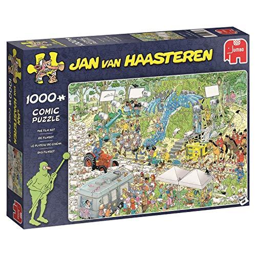 Jumbo 19074 Jan Van Haasteren-The Film Set 1000 Piece Jigsaw Puzzle Multi