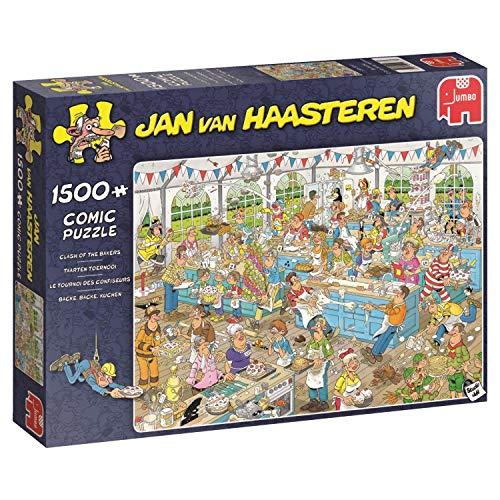 Jumbo Clash of the Bakers 1500 Piece Jan van Haasteren Puzzle