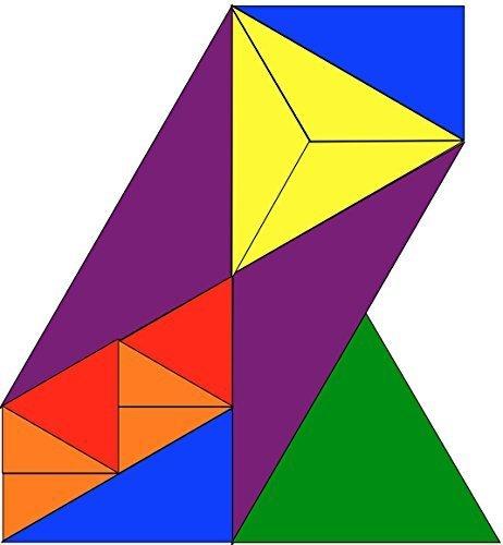 Enrique Ortiz Publishing Triangle Puzzle - Assorted Colors