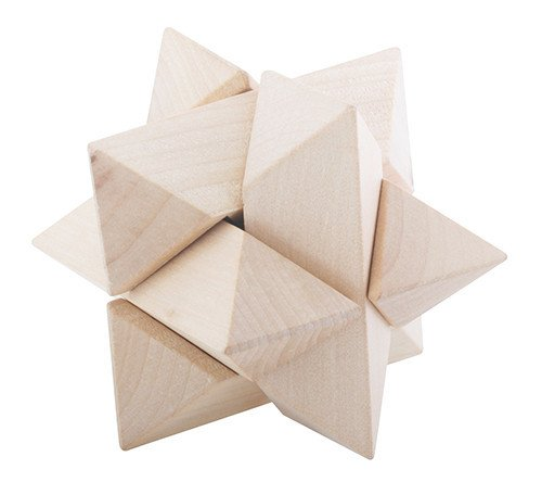YTC Summit 1783 FLW Triangle Star 3D Block Puzzle