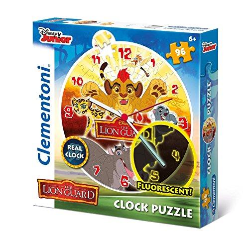 Clementoni The Lion Guard Clock Puzzle 96 Piece