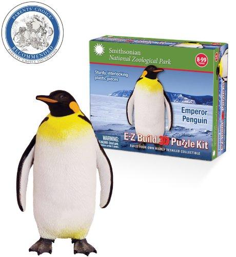 Smithsonian E-Z Build Puzzle - Emperor Penguin