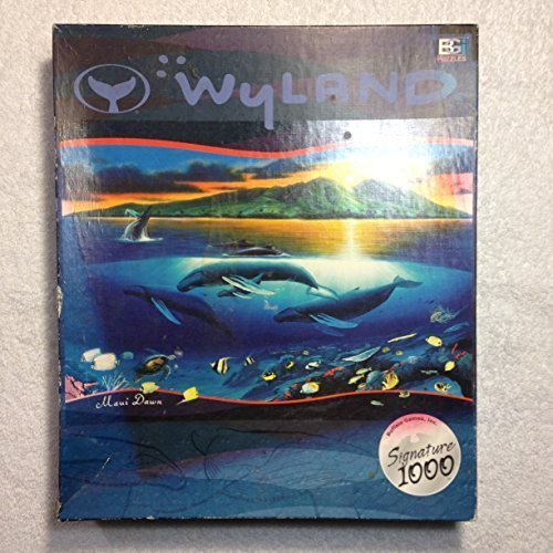 Wyland Maui Dawn Buffalo Games Signature 1000 Series Artist Print Jigsaw Puzzle by Signature Series