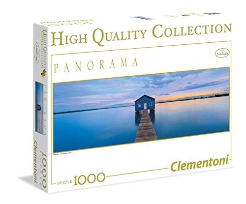 Clementoni Blue Peace Panorama Puzzle 1000 Piece