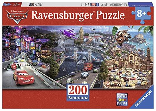 Ravensburger Disney Cars Cars 2 Panorama Puzzle 200 Piece