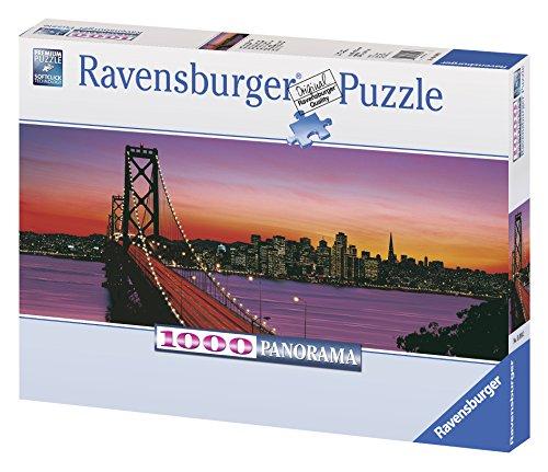 Ravensburger Oakland Bay Bridge at Dusk - 1000 Piece Panorama Puzzle