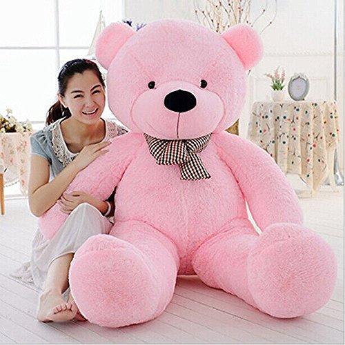 Teddy Bear Stuffed Animals Plush Pillow Giant Teddy Bear Toy Pink 12M  47inch