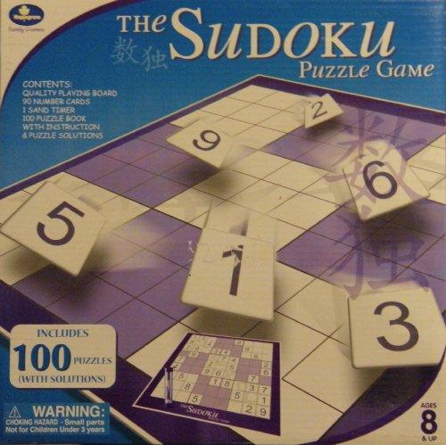 Sudoku Puzzle Folding Game Board