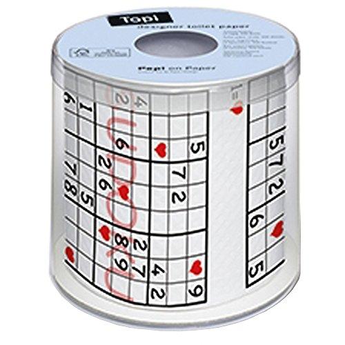 Sudoku Toilet RollPaper