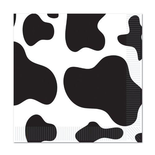 Cow Print Luncheon Napkins 2-Ply    16Pkg