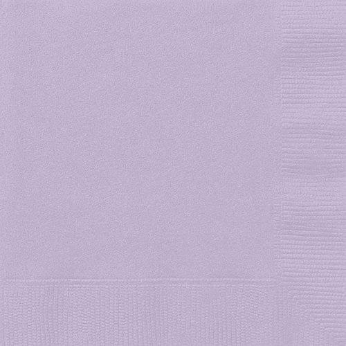 Paper Napkins 65 x 65 Lavender 20 Count