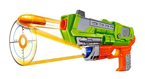 Sharp Shooter Pistol Handgun Toy Gun for Kids with Light Projector Target and Shoots Bullets Over 18 Feet