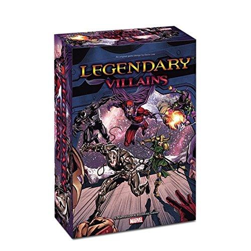 Legendary Villains A Marvel Deck-Building Game