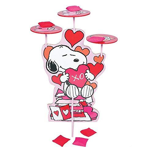 1 Sets Valentine Bean Bag Toss Game