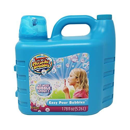 Super Miracle Bubbles Solution 178 oz 526 Liters Bottle