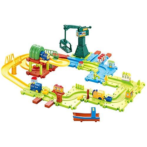 Hey Play 80-HM675793 Plastic Train Set