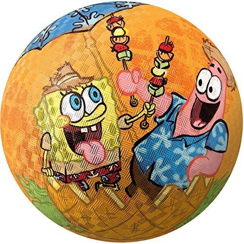 Hedstrom 85 SpongeBob Rubber Playground Ball by Hedstrom