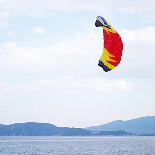 Powerfly Trainer Stunt Power Kite - Dual Line Control - 2m x 08m by Powerfly