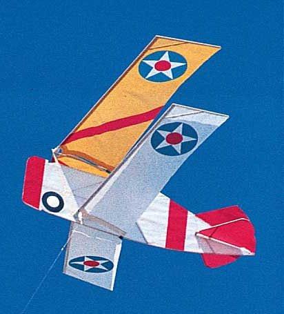 Grumman F3F-2 Squadron Model Airplane Kite Kit by Squadron Kites