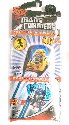 Transformers 2 Kite Sets Minifoil Nylon Kite 2075 in wide Mini Microlite Mylar Kite 4 in wide