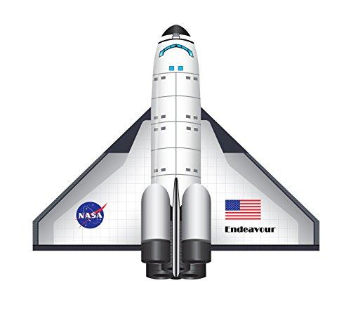 WINDNSUN FlightZone 2-D Nylon Kite Set of 2 - Space Shuttle Endeavour and Red Baron
