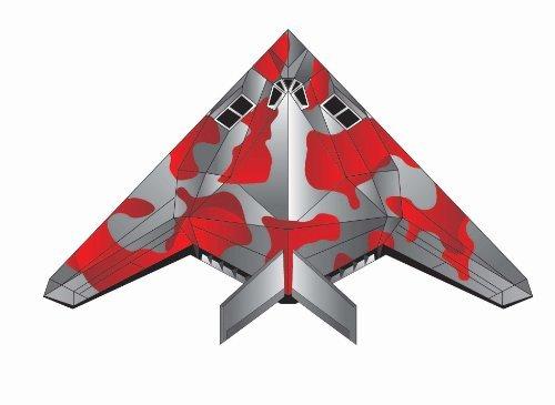 X-Kites Stealth and Red Baron MicroKite Mini Mylar Kite - Set of 2 Makes a Great Stocking Stuffer