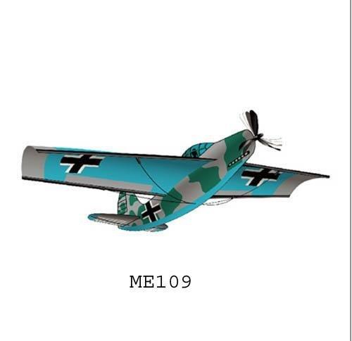 Aeroplane 3-D Nylon Airplane Kite 45 Wingspan