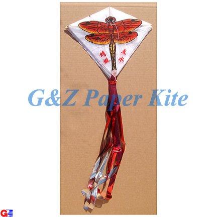10 Mini Paper Kites on a String - Dragonfly Train Kites