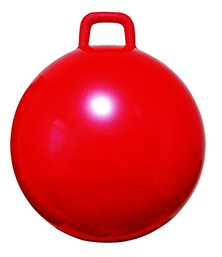 AppleRound Space Hopper Ball with Air Pump 22in55cm Diameter for Ages 10-12 Hop Ball Kangaroo Bouncer Hoppity Hop Jumping Ball Sit Bounce