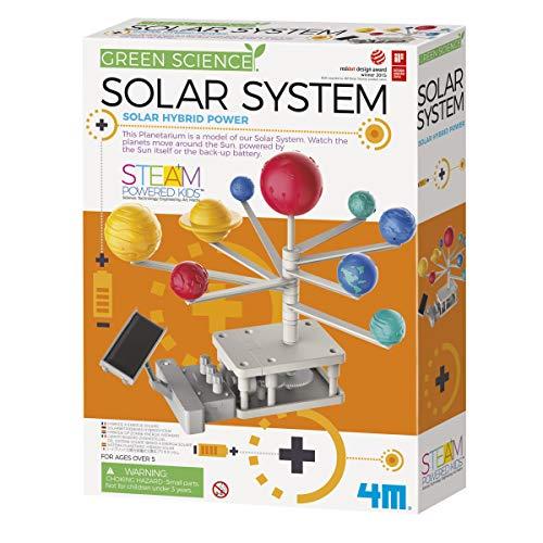 4M Green Science Rotating Solar System Kids Science Kit