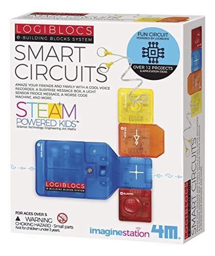 4M Logiblocs E-Building Blocks System Smart Circuits Kids Science Kit