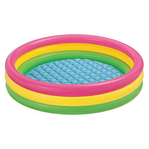 Intex Kiddie Pool - Kids Summer Sunset Glow Design - 58 x 13