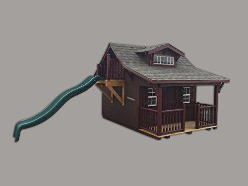 Little Cottage Company Craftsman DIY Playhouse Kit 11 x 10