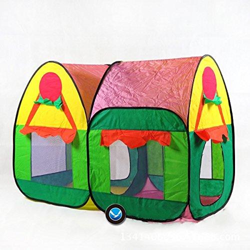 Sangdo New Double Cottage Garden Play House Childrens Baby Kid IndoorOutdoor Tent Gift